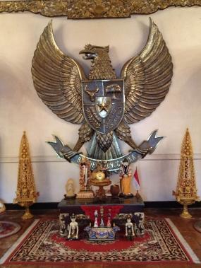 Pancasila effigy
