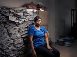 Saraswati Papers Worker